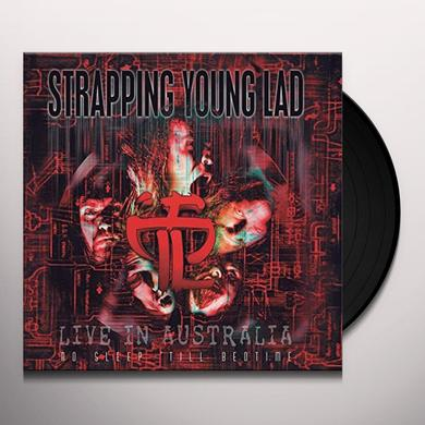 Strapping Young Lad NO SLEEP TIL BEDTIME: LIVE IN AUSTRALIA Vinyl Record - UK Release