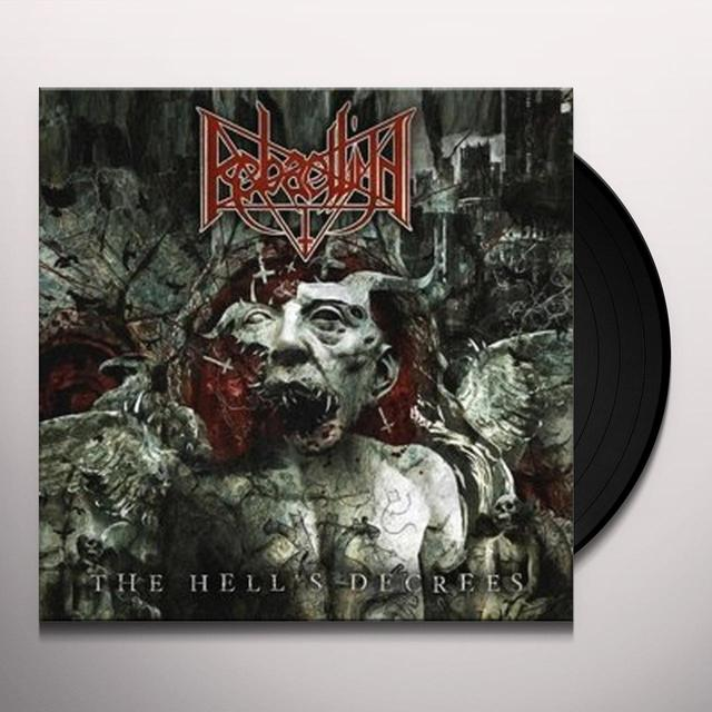 RABAELLIUN HELL'S DECREES Vinyl Record - UK Import