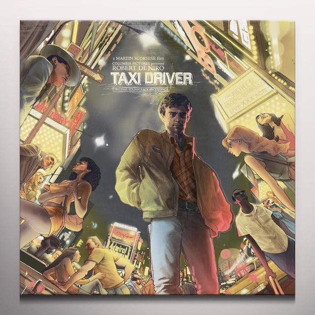 Bernard Herrmann TAXI DRIVER / O.S.T. Vinyl Record