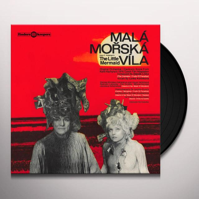 Zdenek Liska MALA MORSKA VILA - O.S.T. Vinyl Record
