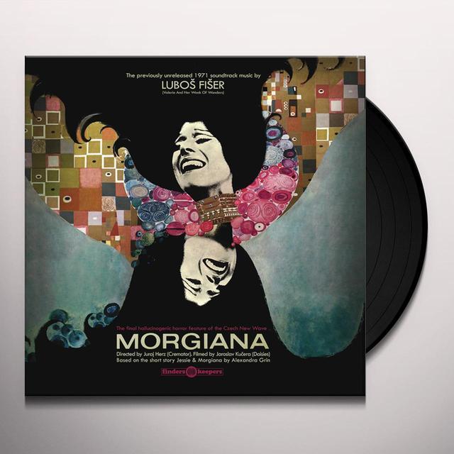 Lubos Fiser MORGIANA - O.S.T. Vinyl Record