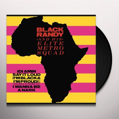BLACK RANDY & ELITE METRO SQUAD IDI AMIN Vinyl Record