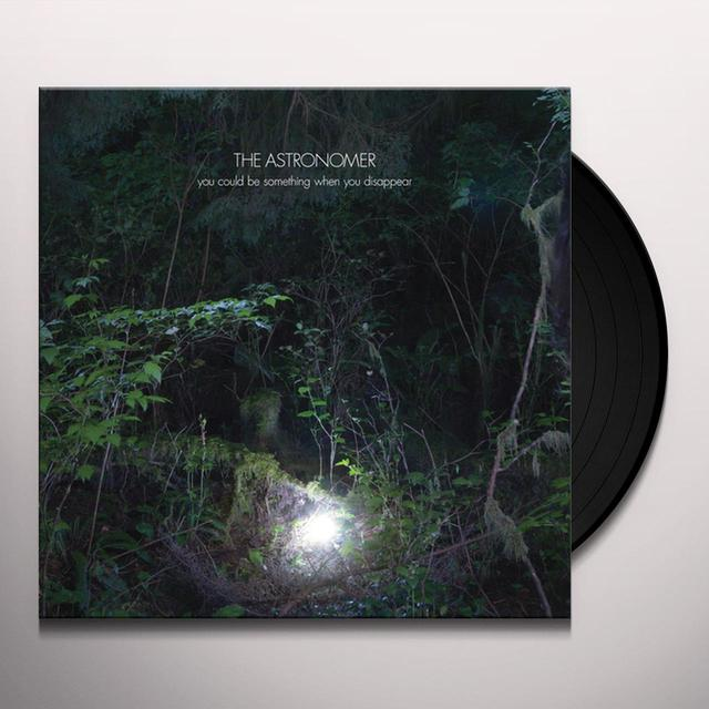 ASTRONOMER YOU COULD BE SOMETHING WHEN YOU DISAPPEAR Vinyl Record