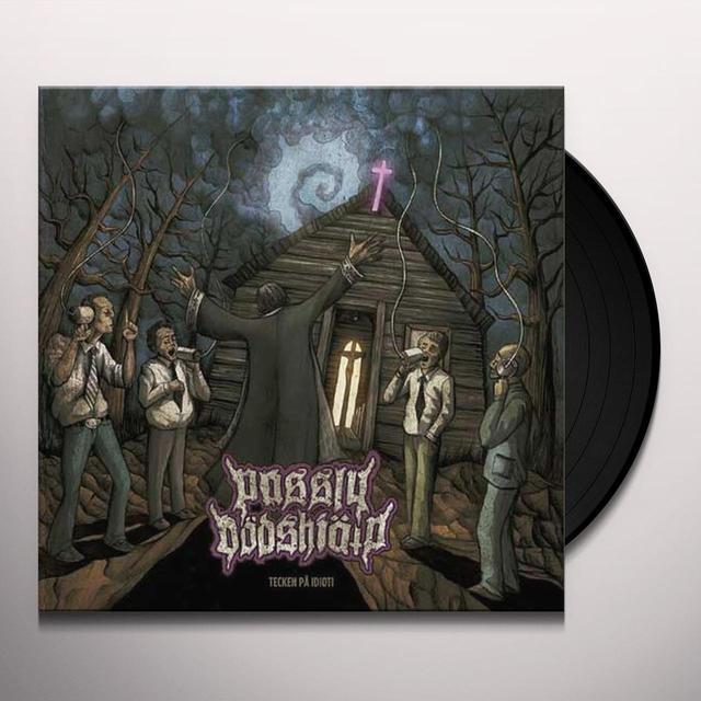Passiv Dodshjalp TECKEN PA IDIOTI Vinyl Record - 10 Inch Single