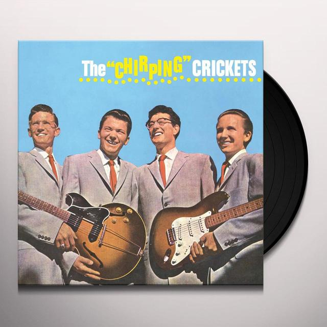 Buddy Holly & Crickets CHIRPING CRICKETS Vinyl Record