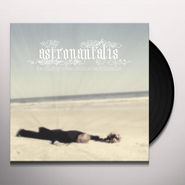 Astronautalis MIGHTY OCEAN & NINE DARK THEATRES Vinyl Record - Limited Edition