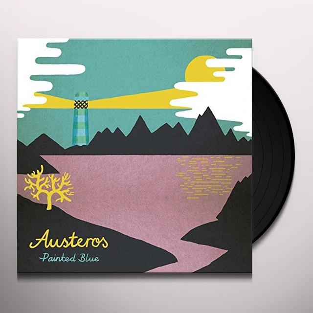 AUSTEROS PAINTED BLUE Vinyl Record - UK Import