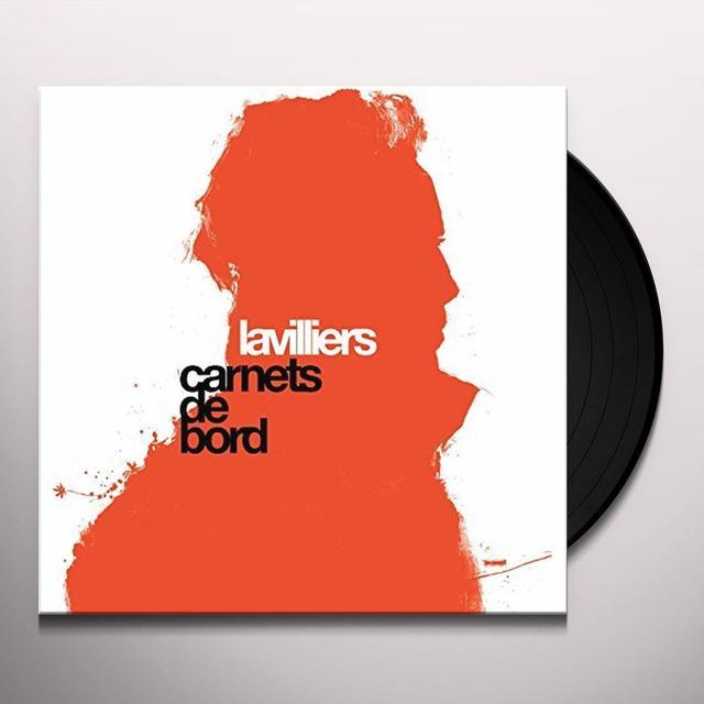 Bernard Lavilliers CARNETS DE BORD Vinyl Record