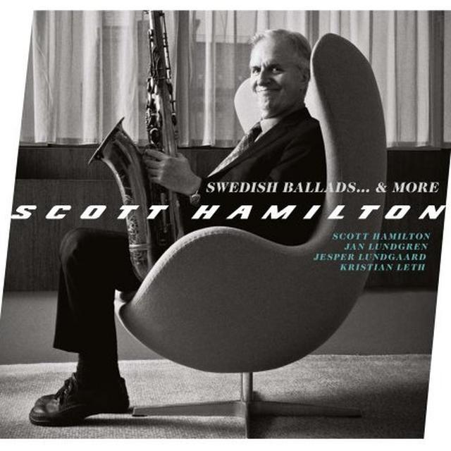 Scott Hamilton SWEDISH BALLADS & MORE Vinyl Record - Limited Edition, Spain Release