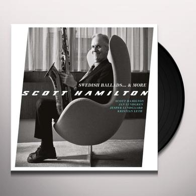Scott Hamilton SWEDISH BALLADS & MORE Vinyl Record - Limited Edition, Spain Import