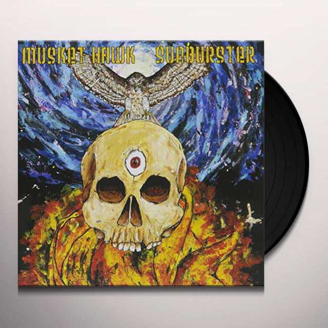 MUSKET HAWK / SUNBURSTER SPLIT Vinyl Record
