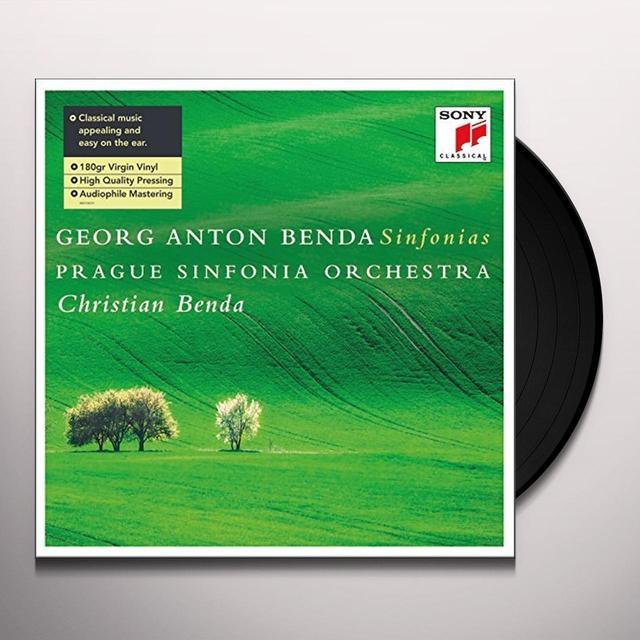 Christian Benda GEORG ANTON BENDA: SINFONIAS Vinyl Record