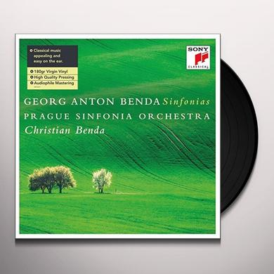 Christian Benda GEORG ANTON BENDA: SINFONIAS (GER) Vinyl Record