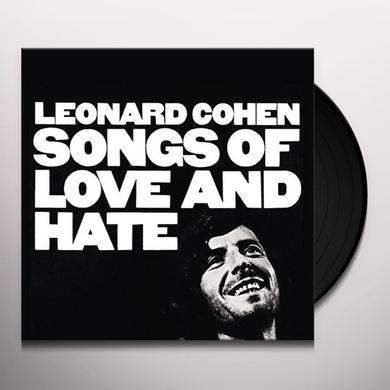 Leonard Cohen SONGS OF LOVE & HATE Vinyl Record - UK Import