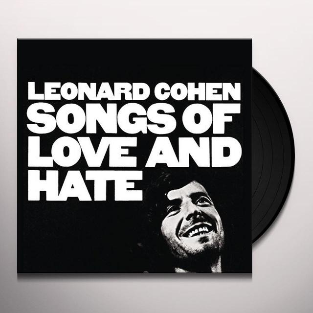 Leonard Cohen SONGS OF LOVE & HATE Vinyl Record