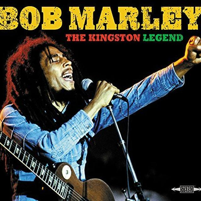 Bob Marley KINGSTON LEGEND Vinyl Record
