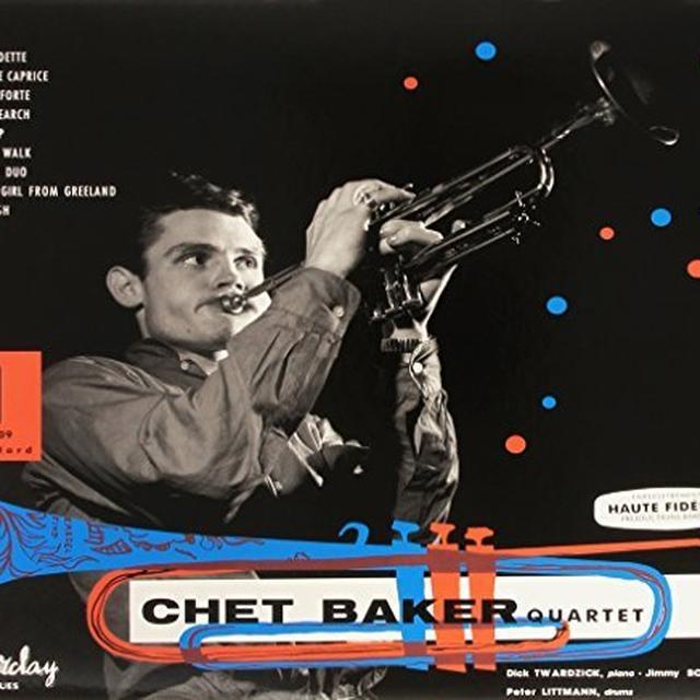 CHET BAKER QUARTET 1955 Vinyl Record