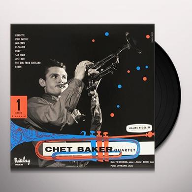 CHET BAKER QUARTET 1955 Vinyl Record - Limited Edition, 180 Gram Pressing, Spain Import