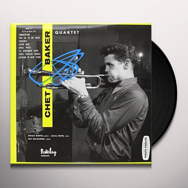 CHET BAKER QUARTET 1956 Vinyl Record - Limited Edition, 180 Gram Pressing, Spain Import