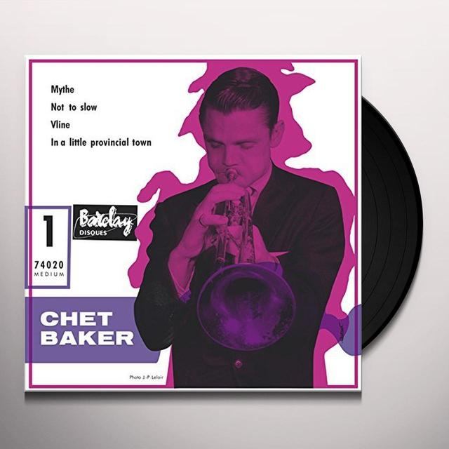 CHET BAKER & HIS ORCHESTRA 1956 Vinyl Record - Spain Release