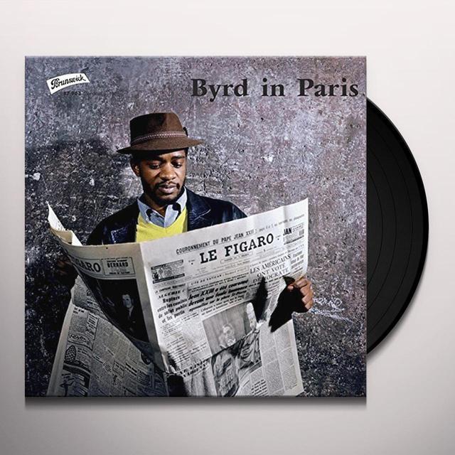 Donald Byrd BYRD IN PARIS Vinyl Record - 180 Gram Pressing, Spain Import