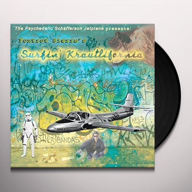 PSYCHEDELIC SCHAFFERSON JETPLANE SURFIN KRAUTLIFORNIA Vinyl Record - UK Import