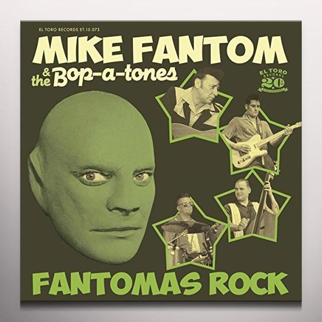 Mike Fantom & The Bop-A-Tones FANTOMAS ROCK Vinyl Record - Colored Vinyl, Spain Import