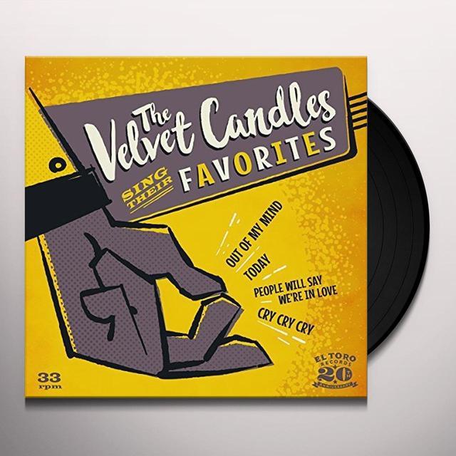 VELVET CANDLES SING THEIR FAVORITES Vinyl Record