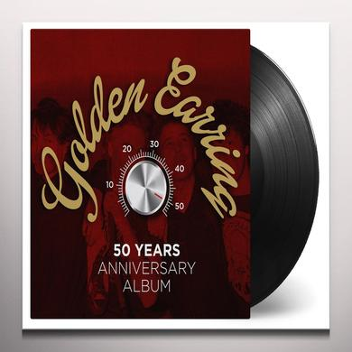 Golden Earring 50 YEARS ANNIVERSARY ALBUM Vinyl Record - Gold Disc, Gold Vinyl, Limited Edition