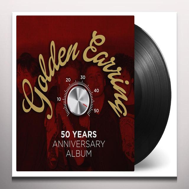 Golden Earring 50 YEARS ANNIVERSARY ALBUM Vinyl Record - Gold Disc