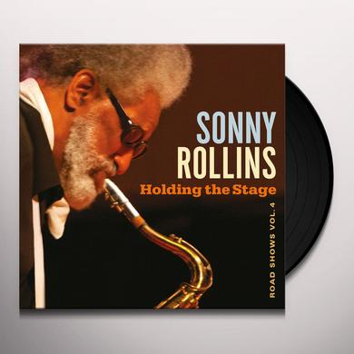 Sonny Rollins HOLDING THE STAGE: ROAD SHOWS VOL. 4 Vinyl Record - Gatefold Sleeve, 180 Gram Pressing