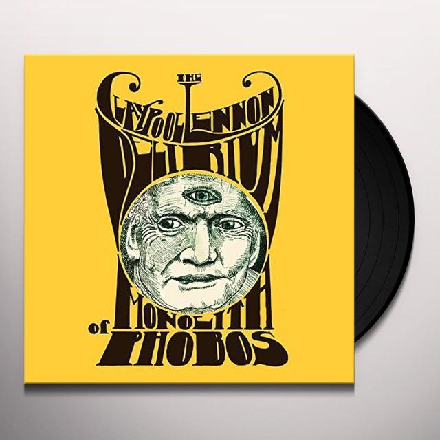 Les Claypool MONOLITH OF PHOBOS Vinyl Record - Gatefold Sleeve