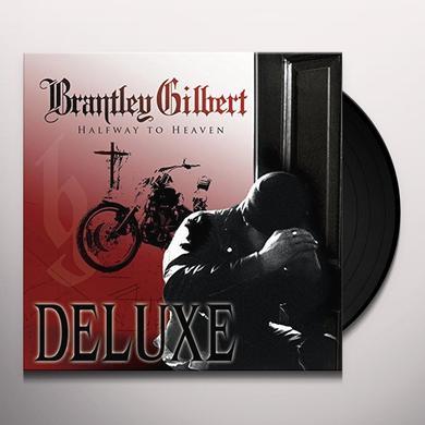Brantley Gilbert HALFWAY TO HEAVEN Vinyl Record - Gatefold Sleeve