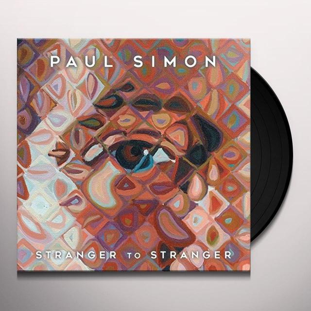 Paul Simon STRANGER TO STRANGER Vinyl Record