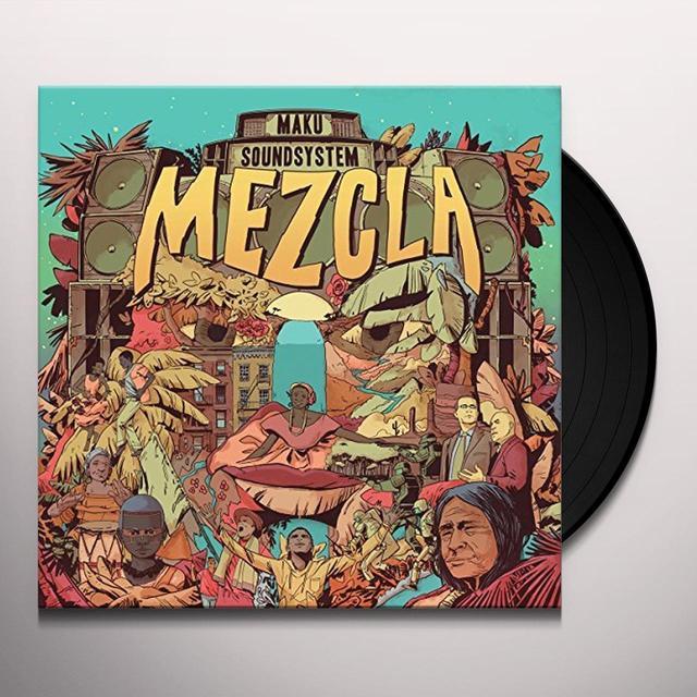 M.A.K.U. SOUNDSYSTEM MEZCLA Vinyl Record - Gatefold Sleeve
