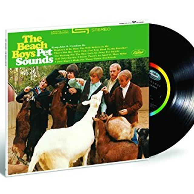 The Beach Boys PET SOUNDS (STEREO) Vinyl Record