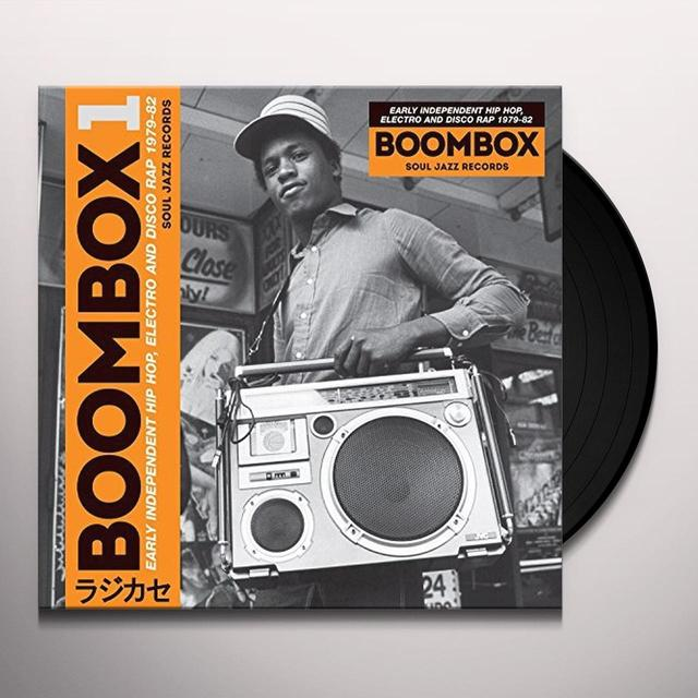 Soul Jazz Records Presents BOOMBOX Vinyl Record - Digital Download Included