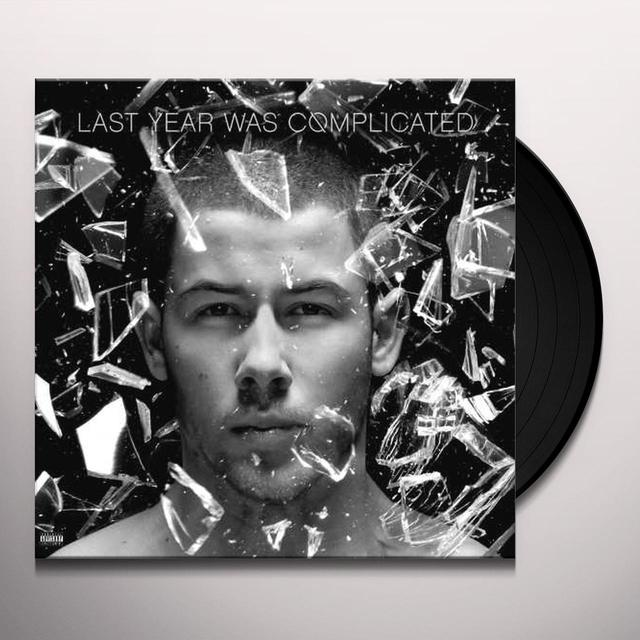 Nick Jonas LAST YEAR WAS COMPLICATED Vinyl Record