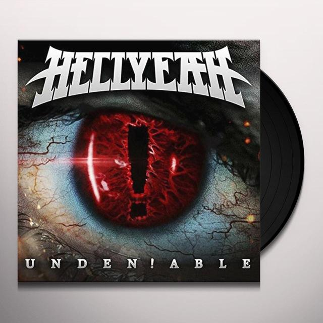 Hellyeah UNDEN!ABLE Vinyl Record - Gatefold Sleeve, 180 Gram Pressing