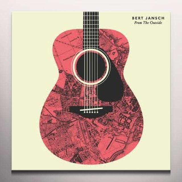 Bert Jansch FROM THE OUTSIDE Vinyl Record - Red Vinyl