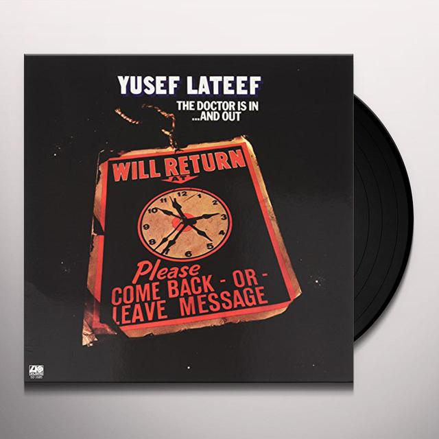 Yusef Lateef DOCTOR IS IN...AND OUT Vinyl Record