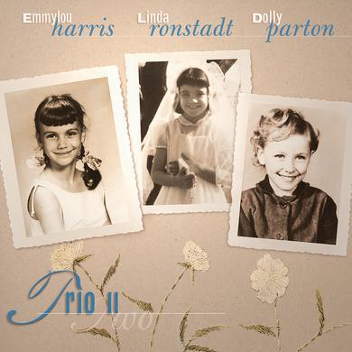 Dolly Parton & Linda Ronstadt  TRIO II Vinyl Record