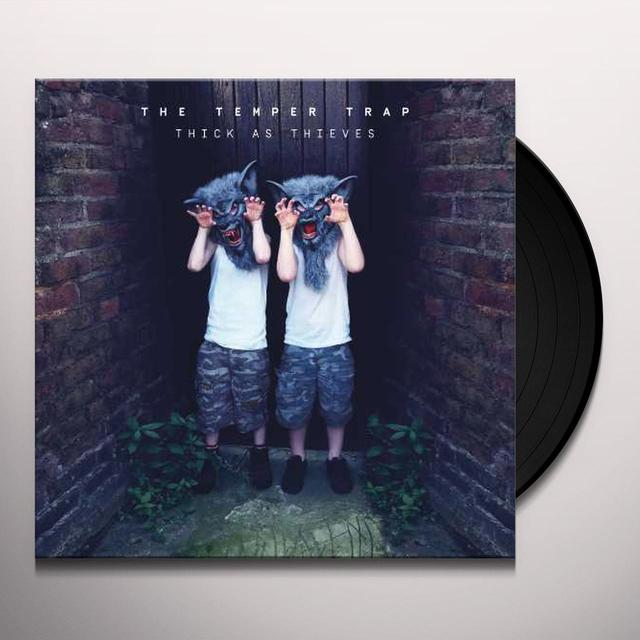 Temper Trap THICK AS THIEVES Vinyl Record
