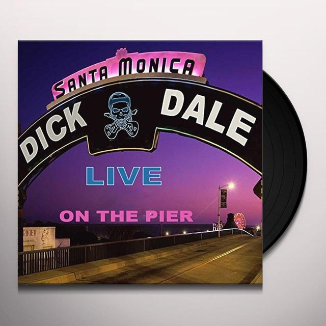 Dick Dale LIVE SANTA MONICA PIER Vinyl Record