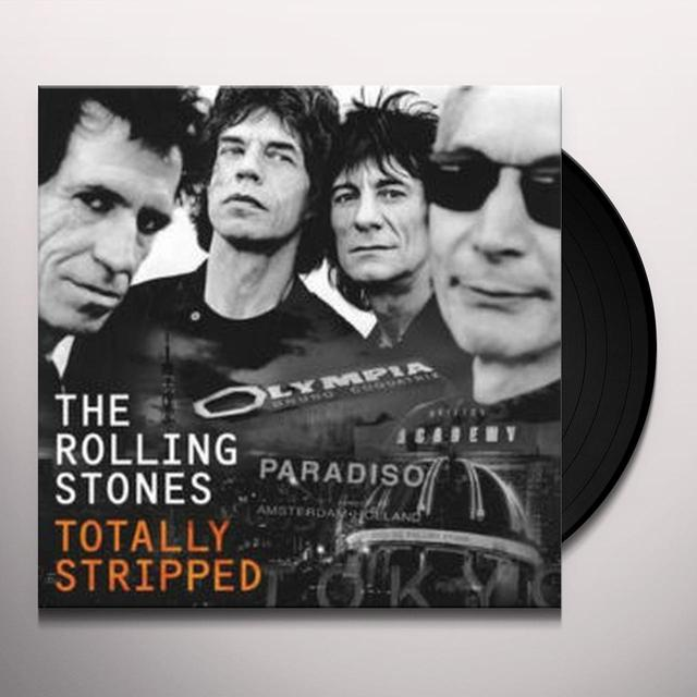 The Rolling Stones TOTALLY STRIPPED Vinyl Record