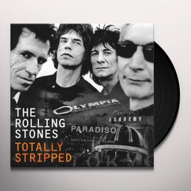 The Rolling Stones TOTALLY STRIPPED (W/DVD) Vinyl Record - Gatefold Sleeve