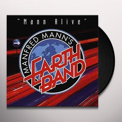 Manfred Mann'S Earth Band MANN ALIVE Vinyl Record