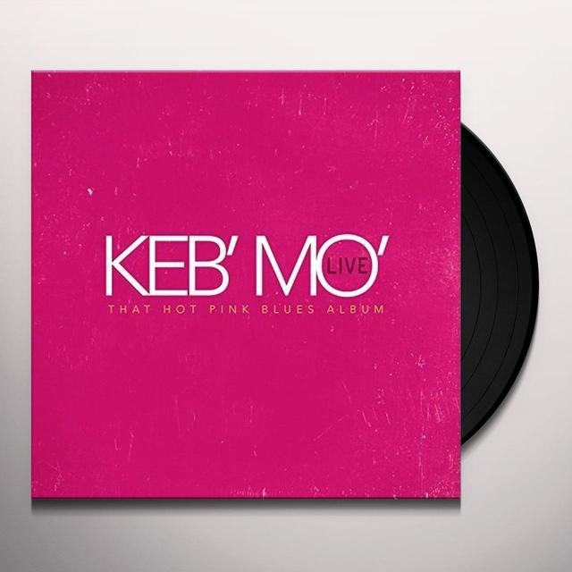 KEB MO LIVE THAT HOT PINK BLUES ALBUM Vinyl Record