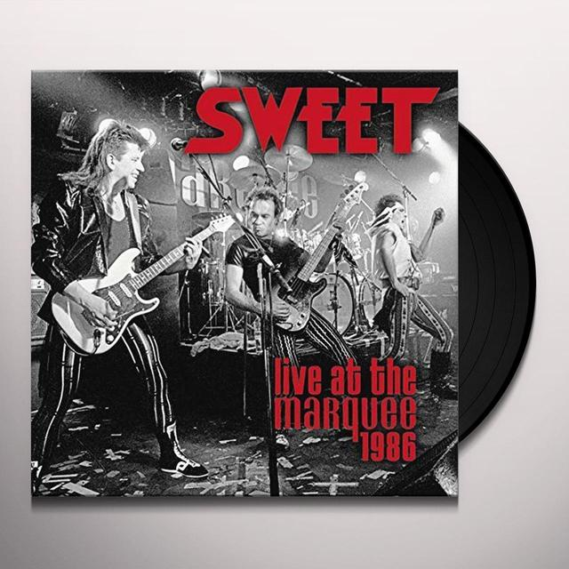 Sweet LIVE AT THE MARQUEE 1986 Vinyl Record