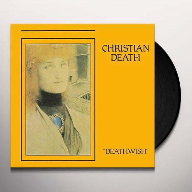 Christian Death DEATHWISH Vinyl Record